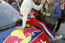 MOTORSPORT - WORLD RALLY CHAMPIONSHIP 2010 - RALLY RACC CATALUNYA COSTA DAURADA / RALLY DE ESPANA / RALLYE D'ESPAGNE - SALOU (SPA) - 21 TO 24/10/10 - PHOTO : FRANCOIS BAUDIN / DPPI -  LOEB SEBASTIEN (FRA) ) - CITROËN C4 WRC - CITROËN TOTAL WRT - AMBIANCE