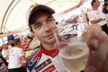 MOTORSPORT - WORLD RALLY CHAMPIONSHIP 2010 - RALLY RACC CATALUNYA COSTA DAURADA / RALLY DE ESPANA / RALLYE D'ESPAGNE - SALOU (SPA) - 21 TO 24/10/10 - PHOTO : FRANCOIS BAUDIN / DPPI -  LOEB SEBASTIEN (FRA)  - CITROËN C4 WRC - CITROËN TOTAL WRT - AMBIANCE