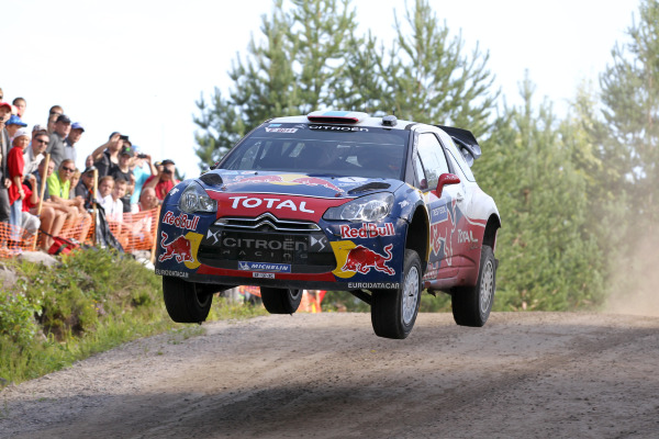 MOTORSPORT - WORLD RALLY CHAMPIONSHIP 2011 - FINLAND RALLY / RALLYE DE FINLANDE - JYVASKYLA (FIN) - 29 TO 31/07/2011 - PHOTO: FRANCOIS BAUDIN / DPPI -  01 SEBASTIEN LOEB (FRA) / DANIEL ELENA (MCO) - CITROËN DS3 WRC - CITROËN TOTAL WRT - ACTION