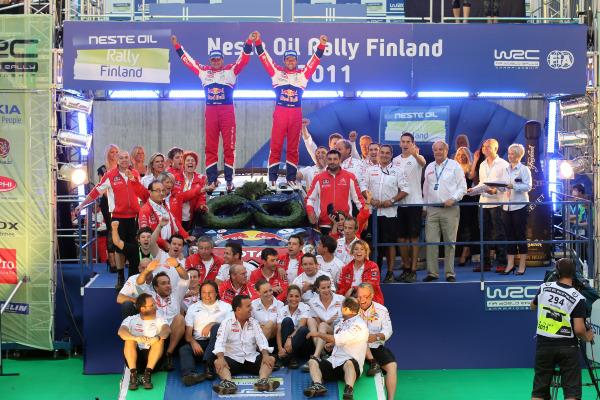 MOTORSPORT - WORLD RALLY CHAMPIONSHIP 2011 - FINLAND RALLY / RALLYE DE FINLANDE - JYVASKYLA (FIN) - 29 TO 31/07/2011 - PHOTO: FRANCOIS BAUDIN / DPPI -  LOEB SEBASTIEN (FRA) - CITROËN DS 3 WRC - CITROËN TOTAL WRT - AMBIANCE PORTRAIT