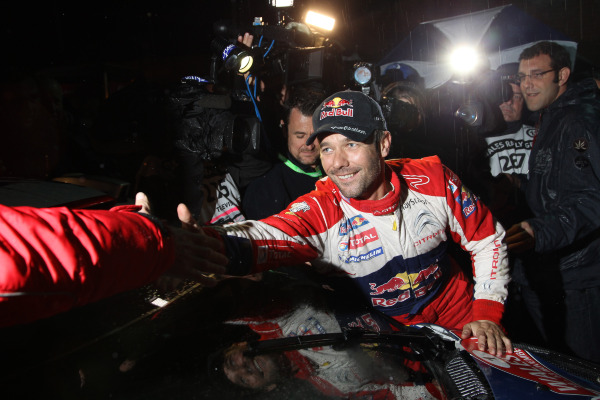 MOTORSPORT - WORLD RALLY CHAMPIONSHIP 2011 - WALES RALLY GB / RALLYE DE GRANDE-BRETAGNE - CARDIFF (GBR) - 10 TO 13/11/2011 - PHOTO : FRANCOIS BAUDIN / DPPI - LOEB SEBASTIEN (FRA) - CITROËN DS 3 WRC - CITROËN TOTAL WRT - AMBIANCE PORTRAIT