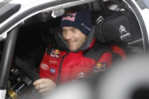 MOTORSPORT - WORLD RALLY CHAMPIONSHIP 2011 - RALLY SWEDEN / RALLYE DE SUEDE - 10 TO 13/02/2011 - KARLSTAD (SWE) - PHOTO : DPPI -  LOEB SEBASTIEN - CITROEN DS3 WRC - CITROEN RACING WORLD RALLY TEAM - AMBIANCE PORTRAIT