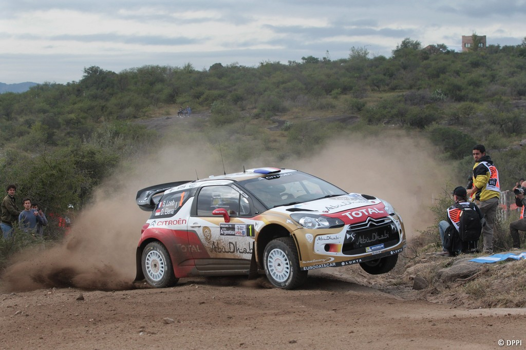 MOTORSPORT - WORLD RALLY CHAMPIONSHIP 2013 - RALLY OF ARGENTINA / RALLYE D' ARGENTINE - VILLA CARLOS PAZ (ARG) - 02 TO 05/05/2013 - PHOTO FRANCOIS BAUDIN  - 01 LOEB Sebastien / ELENA Daniel - CITROEN TOTAL ABU DHABI WRT (FRA) - CITROEN DS3 WRC / ACTION
