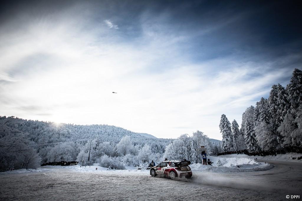 MOTORSPORT - WRC 2013 - RALLYE MONTE CARLO - VALENCE (FRA) & MONACO (MON) - 16 TO 20/01/2013 - PHOTO : FRANCOIS BAUDIN / DPPI -01 LOEB Sebastien / ELENA Daniel - CITROEN TOTAL ABU DHABI WRT (FRA) - CITROEN DS3 WRC / ACTION