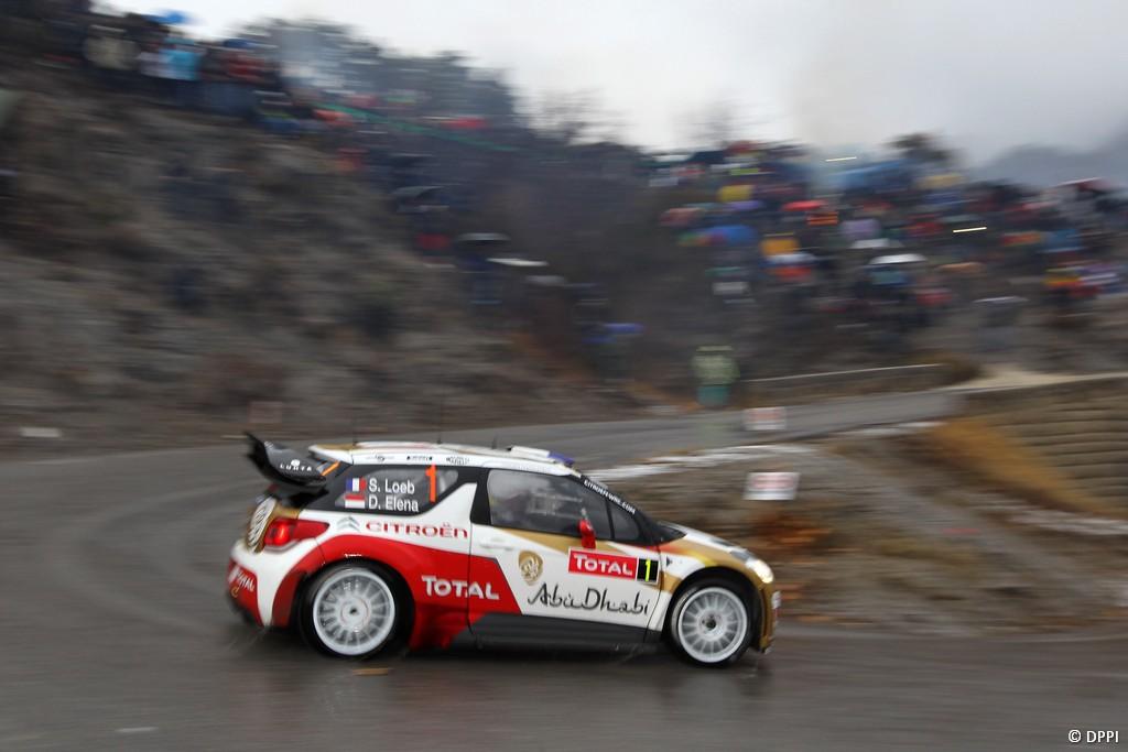 MOTORSPORT - WRC 2013 - RALLYE MONTE CARLO - VALENCE (FRA) & MONACO (MON) - 16 TO 20/01/2013 - PHOTO : FRANCOIS BAUDIN / DPPI -  LOEB Sebastien - CITROEN DS3 WRC - CITROEN TOTAL ABU DHABI WRT (FRA) / AMBIANCE - PORTRAIT