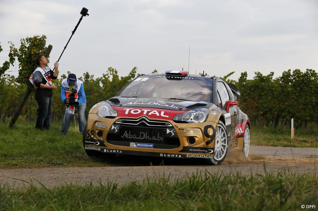 MOTORSPORT - WORLD RALLY CHAMPIONSHIP 2013 - RALLY OF FRANCE - ALSACE - 04 TO 06/10/2013 - PHOTO ALEXANDRE GUILLAUMOT / DPPI - 01 LOEB Sebastien / ELENA Daniel - CITROEN TOTAL ABU DHABI WRT (FRA) - CITROEN DS3 WRC / ACTION