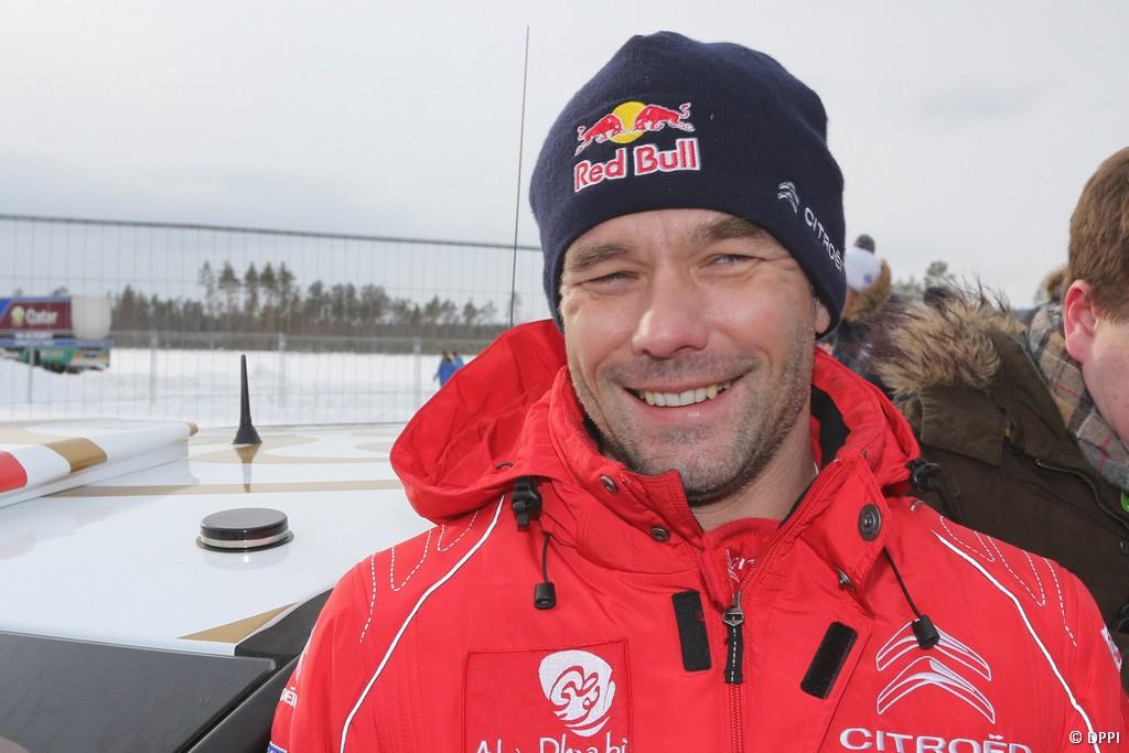MOTORSPORT - WORLD RALLY CHAMPIONSHIP 2013 - RALLY SWEDEN / RALLYE DE SUEDE - 06 TO 10/02/2013 - KARLSTAD (SWE) - PHOTO : FRANCOIS BAUDIN /  DPPI -LOEB Sebastien - CITROEN DS3 WRC - CITROEN TOTAL ABU DHABI WRT (FRA) / AMBIANCE - PORTRAIT