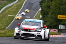 09 LOEB Sebastien (fra) Citroen C Elysee team Citroen racing action during the 2015 FIA WTCC World Touring Car Race of Nurburgring, Germany from May 15th to 17th 2015. Photo Clément Marin / DPPI.