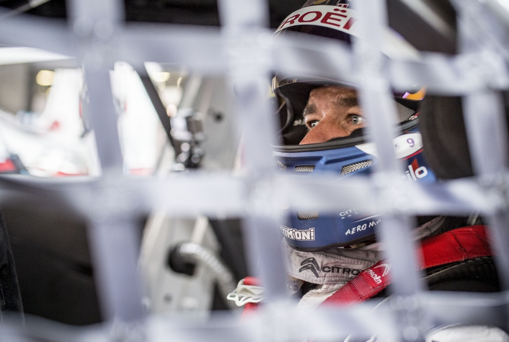 LOEB Sebastien (fra) Citroen C Elysee team Citroen racing portrait ambiance during the 2015 FIA WTCC World Touring Car Championship race at Shangaï from September 25 to 27th 2015, China. Photo Vincent Curutchet / DPPI.