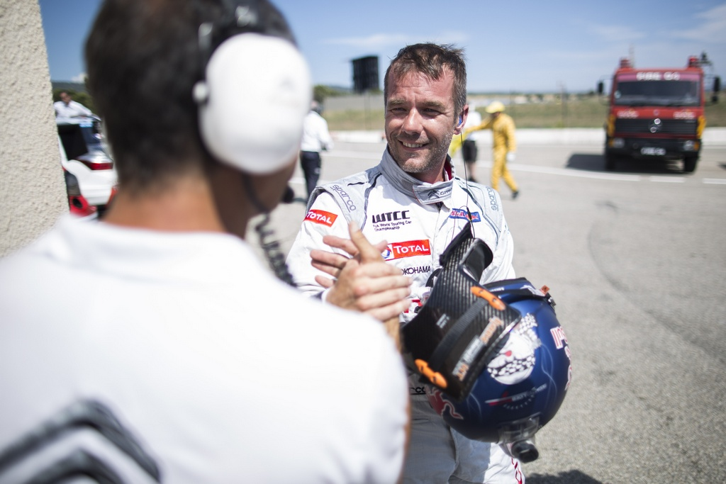 LOEB Sebastien (fra) Citroen C Elysee team Citroen racing portrait ambiance pole position during the 2015 FIA WTCC World Touring Car Championship race of Paul Ricard, Le Castellet, France from June 26th to 28th 2015. Photo Antonin GRENIER / DPPI.