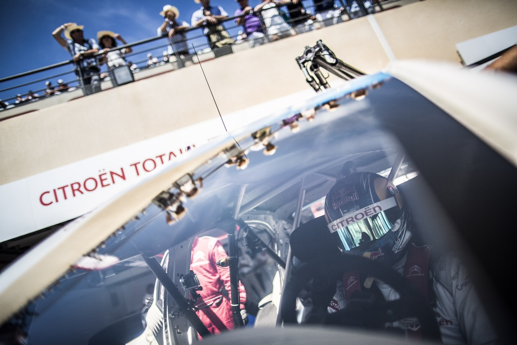 LOEB Sebastien (fra) Citroen C Elysee team Citroen racing portrait ambiance during the 2015 FIA WTCC World Touring Car Championship race of Paul Ricard, Le Castellet, France from June 26th to 28th 2015. Photo Antonin GRENIER / DPPI.