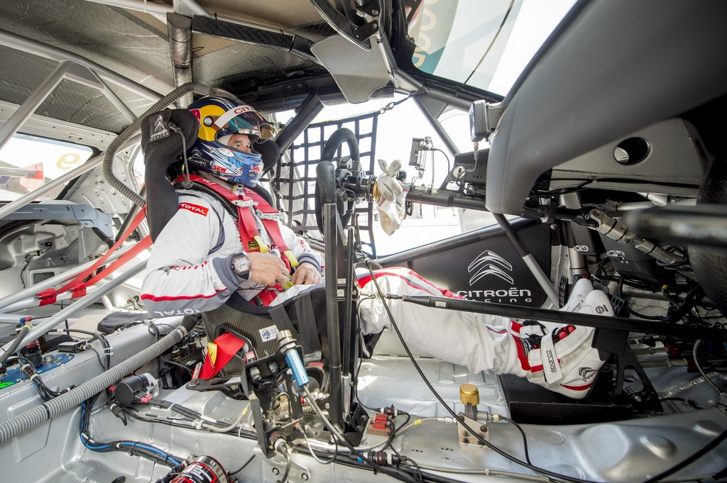 LOEB Sebastien (fra) Citroen C Elysee team Citroen racing portrait ambiance during the 2015 FIA WTCC World Touring Car Championship race of Paul Ricard, Le Castellet, France from June 26th to 28th 2015. Photo Vincent Curutchet / DPPI.