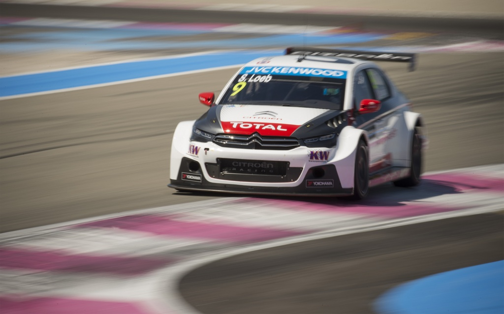 09 LOEB Sebastien (fra) Citroen C Elysee team Citroen racing action during the 2015 FIA WTCC World Touring Car Championship race of Paul Ricard, Le Castellet, France from June 26th to 28th 2015. Photo Vincent Curutchet / DPPI.