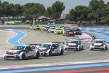 START during the 2015 FIA WTCC World Touring Car Championship race of Paul Ricard, Le Castellet, France from June 26th to 28th 2015. Photo Vincent Curutchet / DPPI.