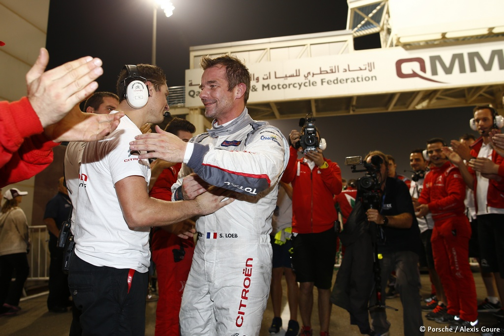 LOEB Sebastien (fra) Citroen C Elysee team Citroen racing portrait ambiance  during the 2015 FIA WTCC World Touring Car Championship race at Losail  from November 25th to 27th  2015, Qatar. Photo Frederic Le Floc'h / DPPI