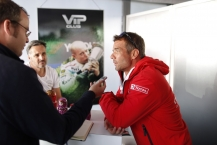LOEB and MULLER at VIP CLUB  during the 2015 FIA WTCC World Touring Car Race of Moscow at Moscow Raceway, Russia from June 5th to 7th 2015. Photo Antonin Grenier / DPPI.