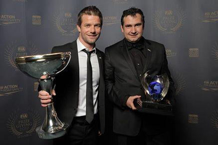 Remise des prix FIA au Palais Ciragan à Istanbul