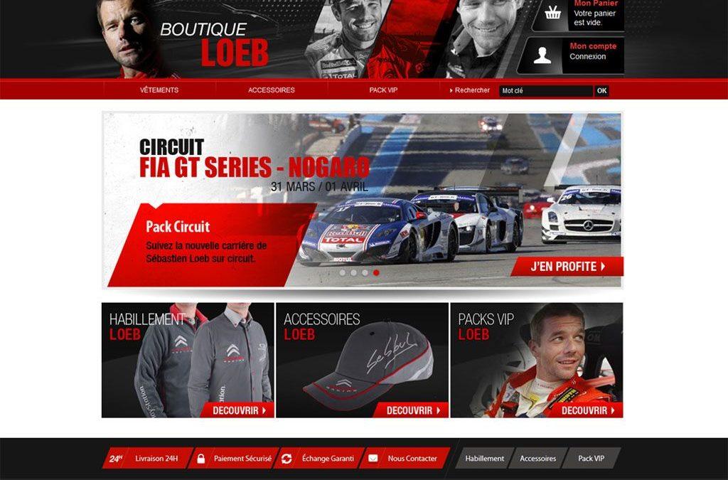A découvrir : Les nouveaux sites web de la « galaxie Sébastien Loeb » !
