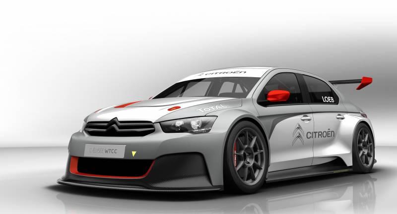 La Citroën C-Elysée WTCC à la conquête des circuits mondiaux