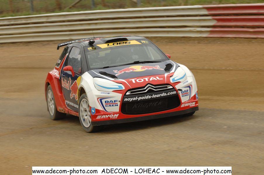 Rallycross à Lohéac : « Un mix de WRC et de circuit… »