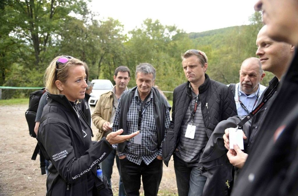 Loeb Events au Rallye de France-Alsace : Les explications de Séverine Loeb.