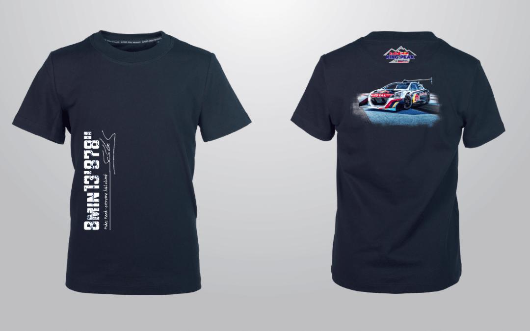 Le tee-shirt de la victoire à Pikes Peak est disponible !