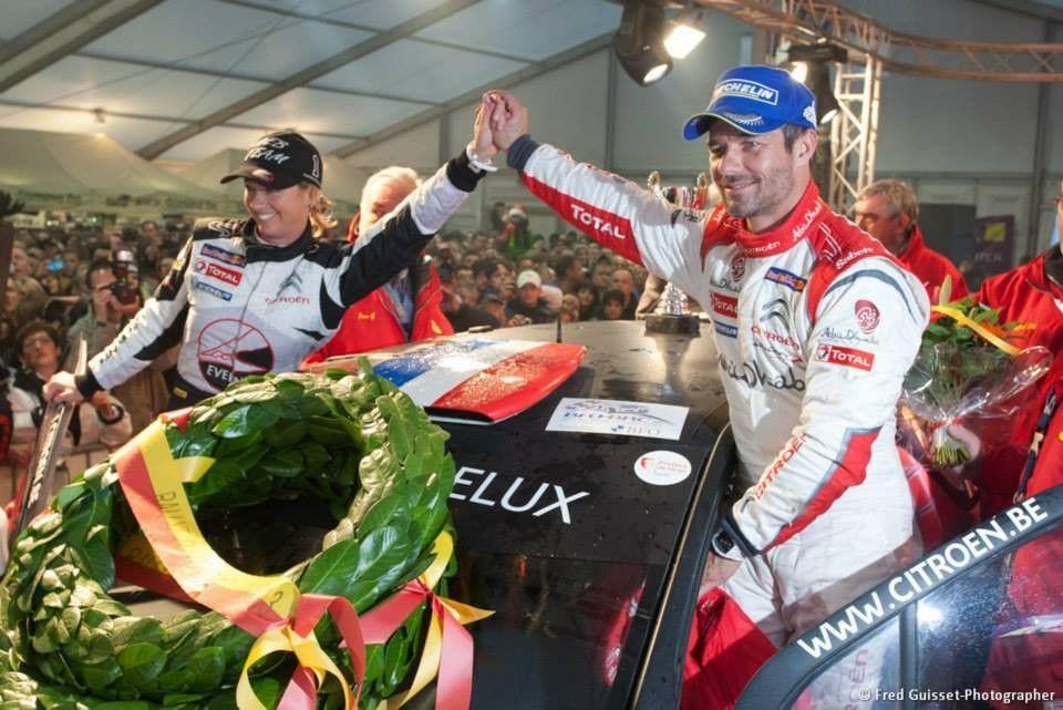 Sébastien Loeb de retour au Rallye du Var avec Séverine en copilote !