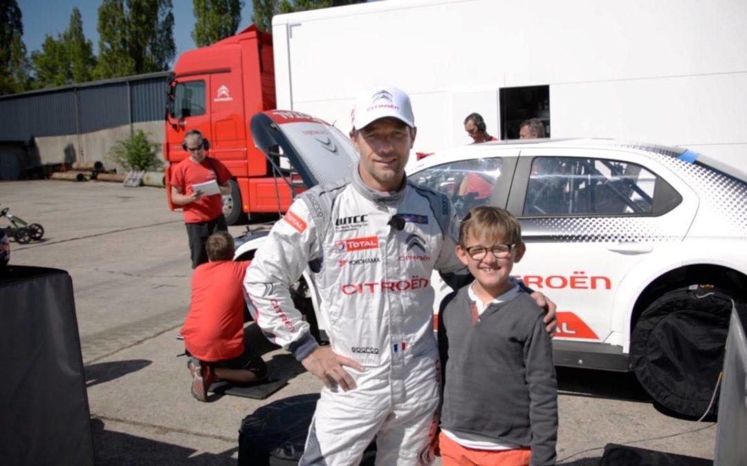 Sébastien Loeb un parrain engagé pour le syndrome d'Angelman