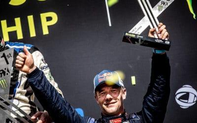 Rallycross d'Afrique du Sud 2018 : « Un podium et des émotions pour cette dernière ! »